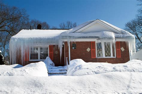 snow home 4 things to know about ice dams including how to get rid