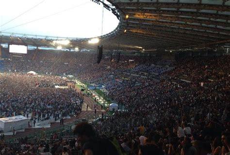 vasco roma 2014 vasco stadio olimpico roma 2014 kick agency