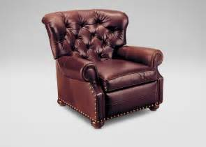 cromwell leather recliner ethan allen