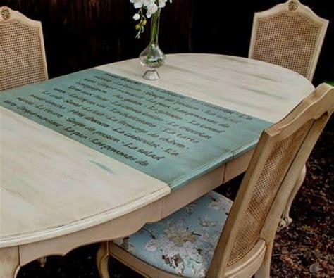 decoracion chalk paint muebles 25 best ideas about mesa restaurada en mesa