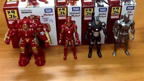 Takara Tomy Iron age of ultron takara tomy diecast marvel iron mini figure review thai