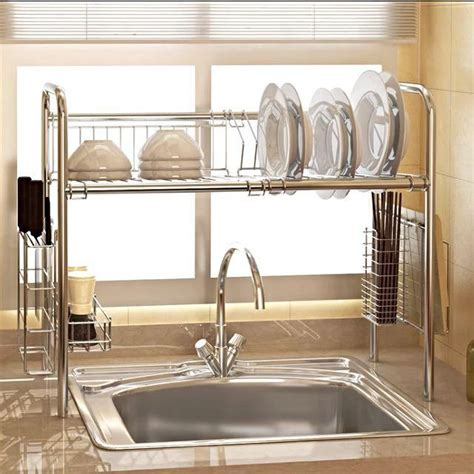 Rak Piring Kitchen Set bn 304 stainless steel plate rack singapore