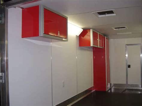 modular aluminum cabinets for trailers cabinets matttroy