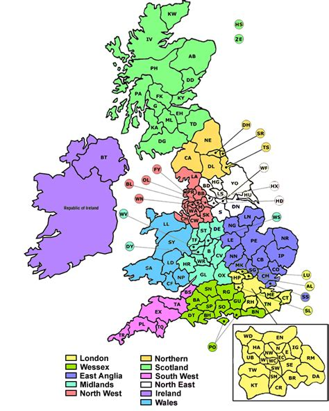 uk postcode map search random