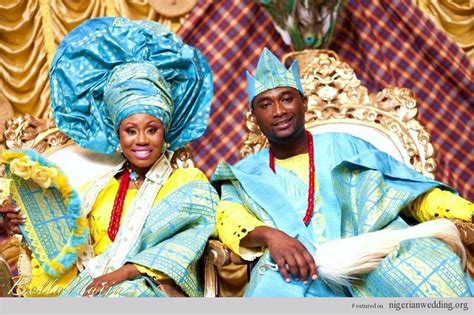 nigerian traditional wedding attires african weddings from all over culture 9 nigeria