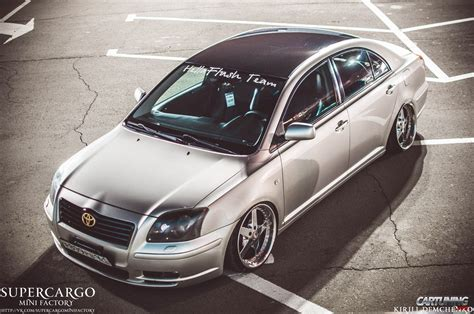 stanced toyota stanced toyota avensis
