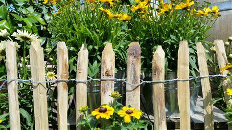 Gartenzaun Weis Holz