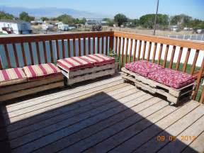 4 growing boys pallet patio furniture