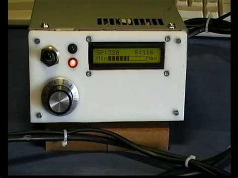 homemade pro  soldering station