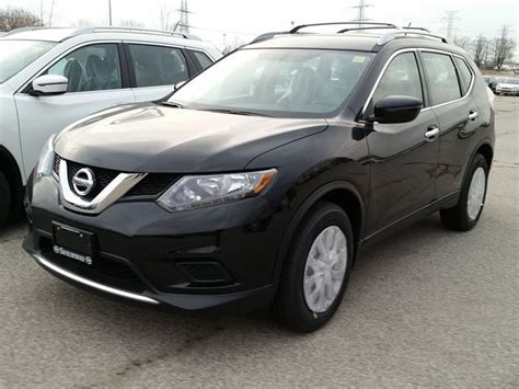 black nissan rogue 2016 2016 nissan rogue s black sherway nissan car wheels ca