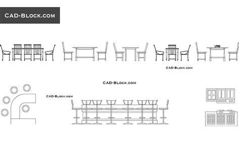 Modern Dining Room Sets For 6 by Dining Tables Elevation Cad Blocks Free