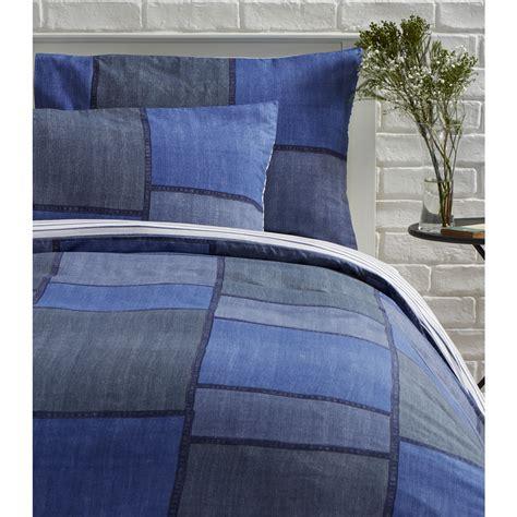 denim comforter king wilko duvet set king denim effect blue at wilko com
