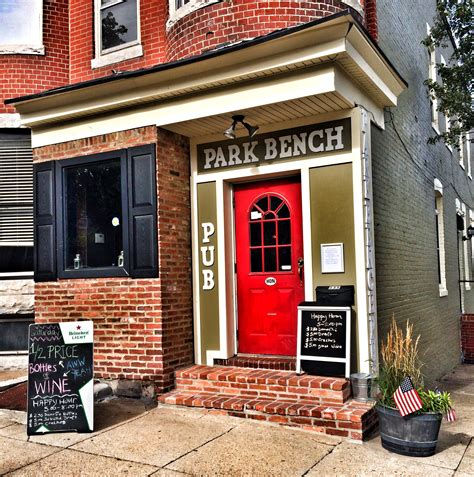 park bench federal hill federal hill park bench pub like the tea eats