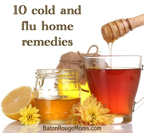10 cold and flu home remedies