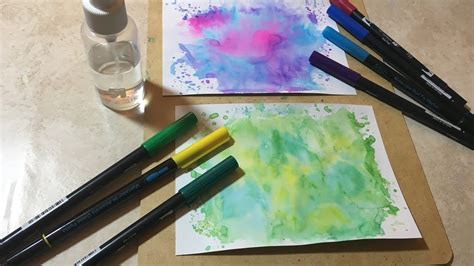 how to make background how to make easy watercolor backgrounds my crafts and diy