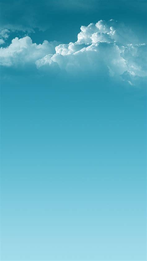 ios clean sky clouds iphone  wallpaper hd