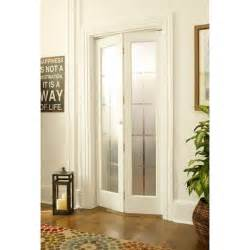 Blinds Enclosed In Glass American Wood Mission Frosted Bi Fold Door 15078536