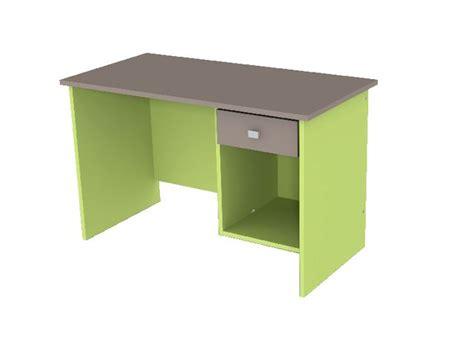 bureau enfant vert caisson bureau vert anis