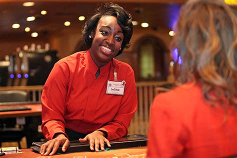 work is fun and games dealer relishes her role of being a