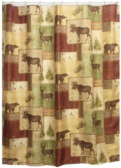 moose shower curtains fabric shower curtains moose and shower curtains on pinterest