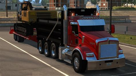 kenworth custom kenworth t800 2016 custom 187 american truck simulator mods