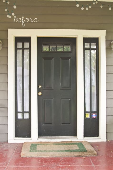 painted front doors  sidelights  painted