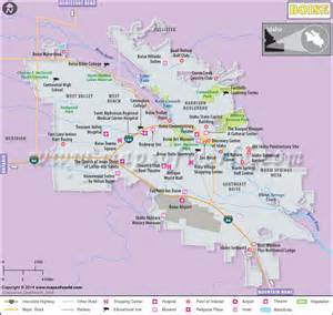 Garden City Idaho Zip Code Boise Map Map Of Boise Capital Of Idaho