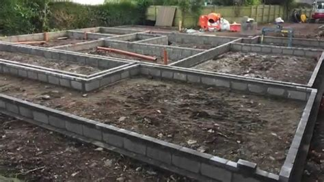 how to build a house building a house part 1 self build house construction