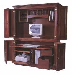 Laptop Armoire Desk Amish Computer Armoires