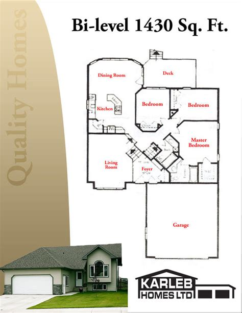 modified bi level house plans 171 unique house plans