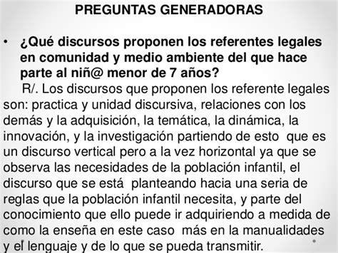 preguntas de investigacion lectoescritura practica iii investigacion comunidad y medio ambiente