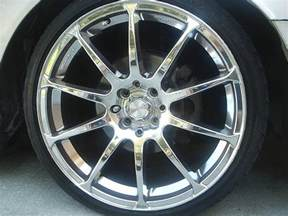 Tires For 18 Inch Rims Fs Chrome 18 Inch Rims Used W No Tires