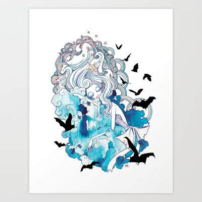 doodle seven deadly sins seven deadly sins sloth print by martynova