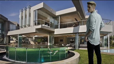 justin biebers house 6 most expensive house of justin bieber youtube