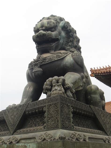file beijing forbidden city imperial guardian lions jpg