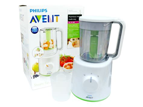 Philips Avent 2 In 1 Blender Steamer new born baby gift avent 2 in 1 combined steamer and blender l36668568 give gift boutique