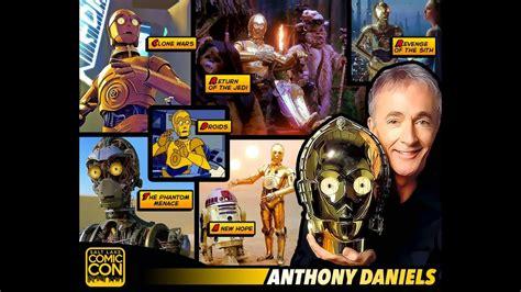 anthony daniels comic con anthony daniels star wars full panel 2015 slcc salt lake