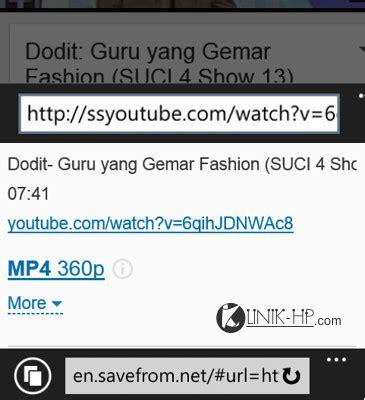cara download mp3 dari youtube melalui handphone cara mudah download video youtube dari handphone