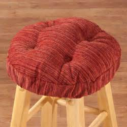 chenille round bar stool cushion bar stool cushion miles kimball