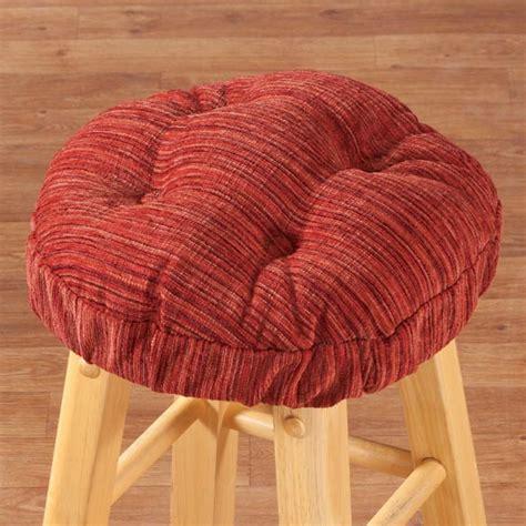 Cushions For Stools by Chenille Bar Stool Cushion Bar Stool Cushion