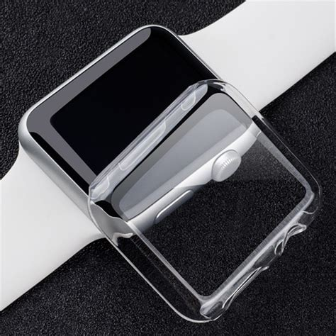 Sale Hardcase Screen Protector For Apple 42mm Series 2 transparent clear slim snap on cover screen protector for 38 42mm apple series 2