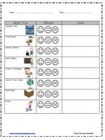 Behavior Plan Template For Elementary Students by Classroom Behavior Mrs Wills Kindergarten