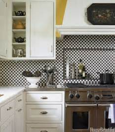 black and white tile kitchen backsplash 14 kitchen backsplash ideas tile designs for kitchen