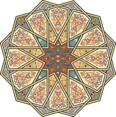 islamic motif pattern 2 arabesque islamic art islamic patterns pinterest