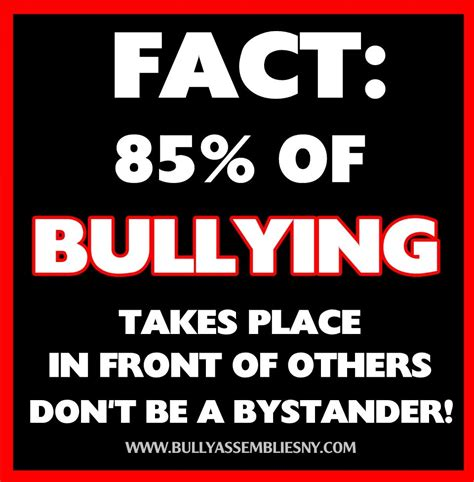 stop bullying   bullying takes place  front   dont   bystander httpwww