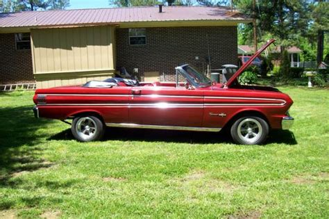 ford falcon dr convertible  manual  sale