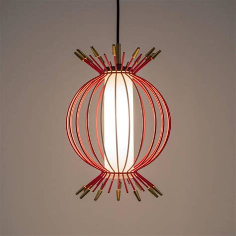 Whimsical Pendant Lights Whimsical Sputnik Cage Pendant Circa 1960 For Sale At 1stdibs