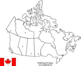 canada map quiz with capitals