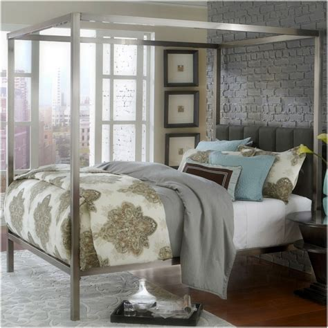 silver canopy bed frame silver metal canopy bed frame photo 48 bed