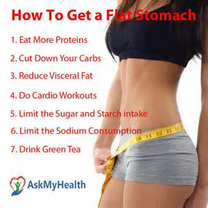 How to get a flat stomach in a week 7 tips to reduce belly fat faster